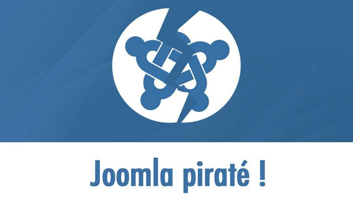 Joomla piraté !